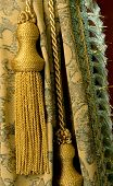 Classical Curtain With A Tassel