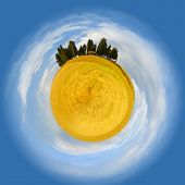 Little Planet Of Tuscany