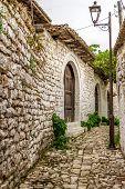 In The Street Citadel Of Berat
