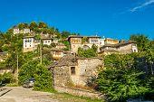 View At Houses In Gjirokaster