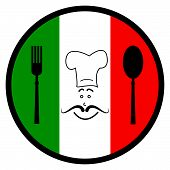 Italy Food Indicates Foods Foodstuff And Europe