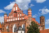 Bernardine Church In Vilnius, Lithuania