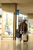 Charles de Gaulle airport in Paris