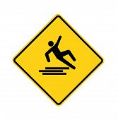 Road Sign - Slipping Man