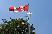 Flags at Prospect Point, Stanley Park