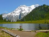 Mt. Rainier from Klapatche Park