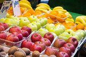Fruits in Ameyoko market street, Tokyo Japan