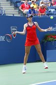 Professional tennis player Christina McHale during third round match at US Open 2013