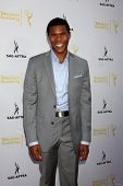 LOS ANGELES - AUG 12:  Gaius Charles at the Dynamic & Diverse:  A 66th Emmy Awards Celebration of Diversity Event at Television Academy on August 12, 2014 in North Hollywood, CA