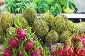 Durian And Pitahaya