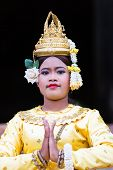 A Beautiful Young Aspara Dancer, Cambodia