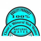 Clean And Mineral Rich Water Stamp