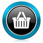 cart glossy icon shopping cart symbol