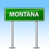 Montana Green Sign