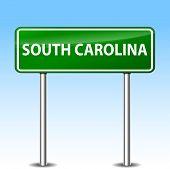 South Carolina Green Sign