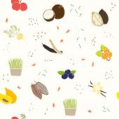 Superfoods pattern.