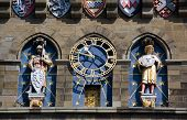 Cardiff Castle Clock tower, detail