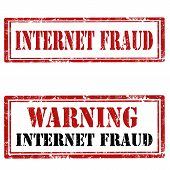 Internet Fraud-stamps