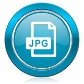 jpg file blue icon