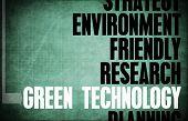 Green Technology Core Principles as a Concept