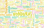 Honduras as a Country Abstract Art Concept