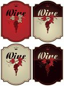 Labels for wine