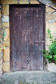 Old Basque Door