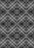 Mosaic plain convex parts assembled in pattern