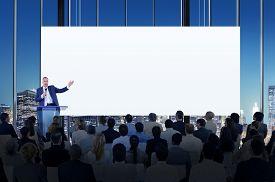 foto of seminar  - Diversity Business People Meeting Conference Seminar Concept - JPG
