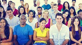 pic of seminar  - Diversity Teenager Team Seminar Training Education Concept - JPG
