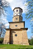 stock photo of babylon  - view of the old tower - JPG
