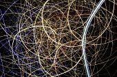 foto of laser beam  - Light display - JPG