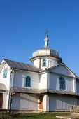 foto of church  - Ukrainian Orthodox Church in the village Church - JPG