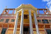 stock photo of peculiar  - Palermo Chinese building - JPG
