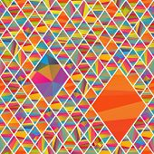 picture of pageant  - seamless pattern with colorfull rhombus different colors stripes - JPG