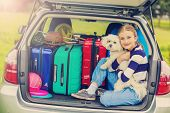 stock photo of family vacations  - Summer vacation - JPG