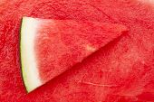 foto of watermelon slices  - Watermelon slices Close up Nutritious and healthy food  - JPG