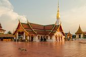 picture of chums  - Wat Phra That Choeng Chum Master royal monastery of Wat province - JPG