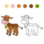 foto of calves  - Game for children - JPG