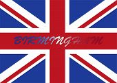 Birminghamwith UK flag