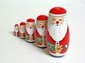 Santa Claus Russian Dolls