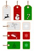 Christmas Tags And Labels