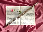 Flute And Flower
