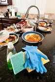 Dish Washing Cleaning Supplies