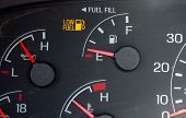 Empty Gas Gauge