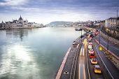 Постер, плакат: Budapest Panorama Hungary