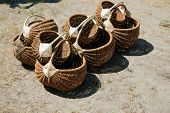 picture of labo  - Baskets braided from vine - JPG