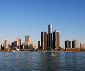 Detroit City-skyline