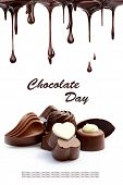 picture of hot-chocolate  - Hot chocolate pralines - JPG