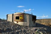 foto of emplacements  - Soviet combat emplacement staying on Kazakhstan - JPG